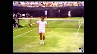 US Open 1973 Final - Jan Kodes (6) Vs John Newcombe (10) ( 2nd Half )