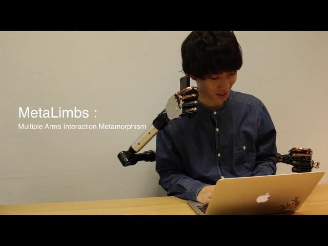 Японские инженеры разработали пару дополнительных роботизированных рук