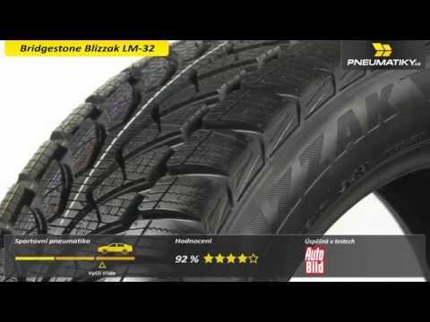 Youtube Bridgestone Blizzak LM-32 215/60 R16 99 H XL Zimní