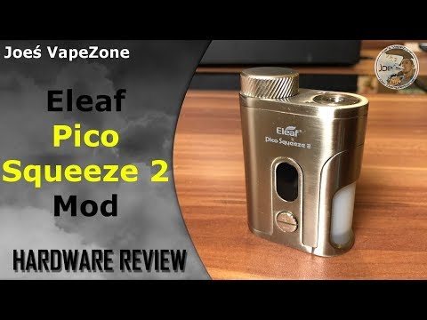 YouTube Video zu Eleaf Pico Squeeze 2 Starterset 100 Watt mit Coral 2 RDA