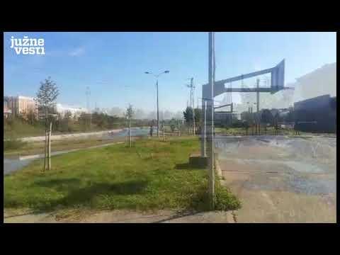 Havarija kod Toplane - bez vode bulevari i Duvanište