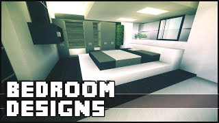 Minecraft - Bedroom Designs & Ideas