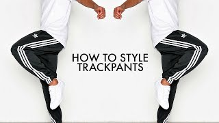 HOW TO STYLE TRACKPANTS | 4 Outfit Ideas | Mens Fashion | Daniel Simmons