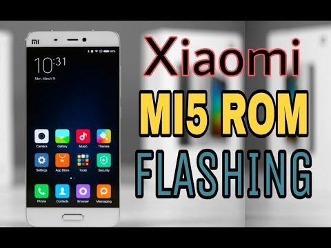 xiaomi mi5 global Rom flashing, step by step, miui rom flash