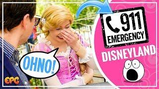 911 Emergency Call at Disneyland Eggstravaganza Egg Hunt 2018!