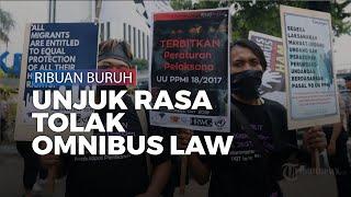 Protes Omnibus Law, Ribuan Buruh akan Demo di Gedung DPR