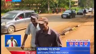 Wafanyakazi na wanasiasa waliokuwa wakiendeleza kampeni washambuliwa na nyuki huko Nyeri