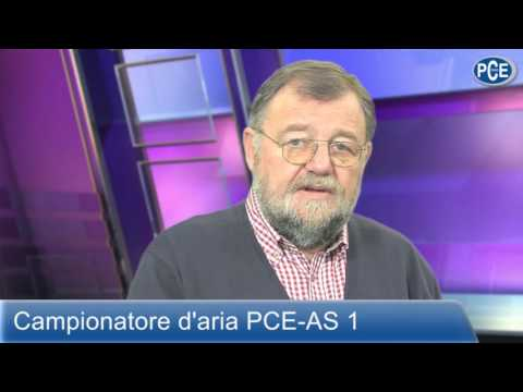 Campionatore d'aria PCE-AS 1 con Wolfgang Rudolph