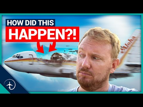 Boeing 737 Roof blown away!! Aloha Airlines flight 243