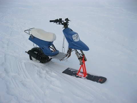 MBK Booster – snow scooter