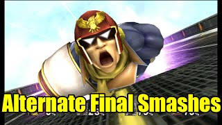 Captain Falcon Tries New Alternate Ways For His Final Smash (Mods) Super Smash Bros Brawl/Project M