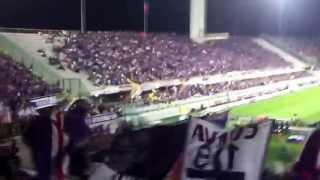 preview picture of video 'CHI NON SALTA E' GIALLOROSSO, Curva Fiesole Fiorentina - Roma 04.05.2013'