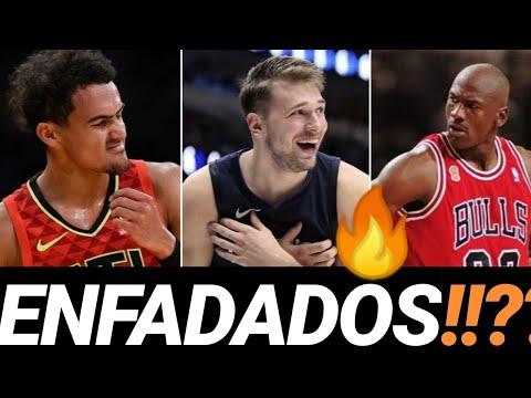 👌🏻Luka DONCIC 💥TRAE Young 🔥 Michael JORDAN 😱 ENFADADOS??!! Datos HISTÓRICOS NBA en español