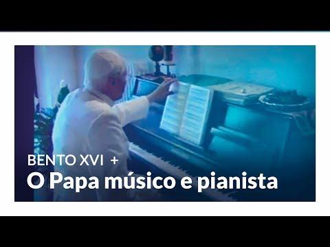 Bento XVI: O papa músico e pianista