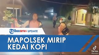 Viral Video 2 Wanita Salah Masuk Tempat, Dikira Kedai Kopi, Ternyata Kantor Polisi di Pekalongan