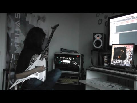 Children of Bodom - Children of Bodom (ESP Alexi Laiho - Guitar Cover w/ SOLO)