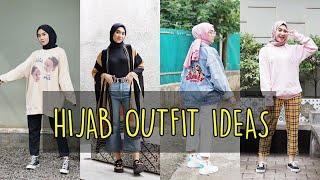 HIJAB OUTFIT IDEAS | 4 GAYA OOTD KEREN DAN SIMPLE BY CHIKA