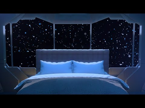Deep White Noise Spaceship Sounds for Sleeping 🚀 10 Hours Starship Bedroom
