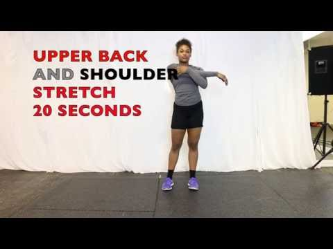 Upper Body Post Workout Stretch