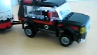 preview picture of video 'lego city 4wd and trailer review pt 1'