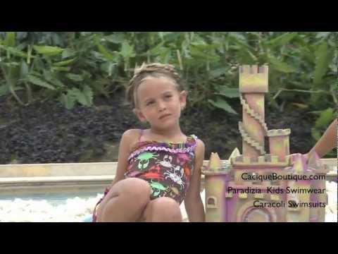 Paradizia Kids Swimwear - Caracoli Girls