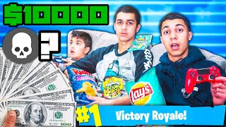 Last To Stop Playing Fortnite Wins $10,000 - Challenge