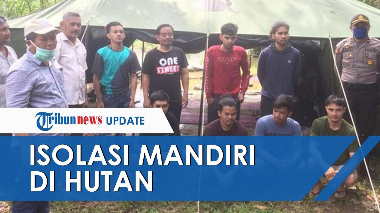 Mudik dari Jakarta saat Wabah Corona, Delapan Pemuda Isolasi Diri dalam Hutan di Aceh Besar