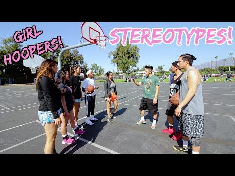Basketball Stereotypes! Pt.4 - GIRL HOOPERS! (видео)