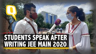 JEE Main Day One: Students Speak on Writing Exams Amid COVID-19 | The Quint - Download this Video in MP3, M4A, WEBM, MP4, 3GP