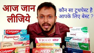 Which is the best tooth paste? In hindi