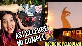 ¡HICE MI PROPIO CINE POR MI CUMPLEAÑOS #14! - Gibby :)