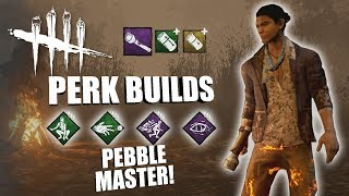 PEBBLE MASTER! | Dead By Daylight NINJA SURVIVOR PERK BUILDS