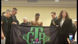 YIKES!! SHAWN PORTER HAS TO CUT HIS HAIR & STRIP NAKED TO MAKE WEIGHT ON 3RD ATTEMPT!