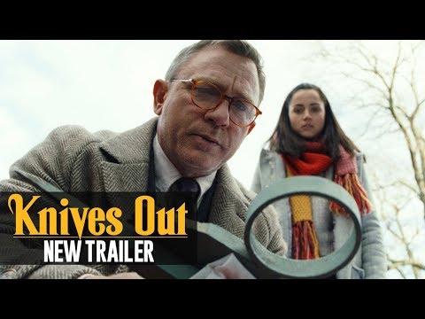 Video trailer för Knives Out (2019) New Trailer – Daniel Craig, Chris Evans, Ana de Armas