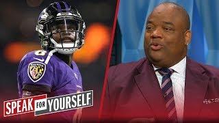 Jason Whitlock on Lamar Jackson's 2018 preseason, Baker's role in CLE | NFL | SPEAK FOR YOURSELF
