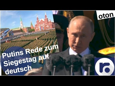 Putins Siegestagsrede auf deutsch [Video]