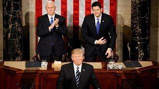 O Trump moderado que surpreendeu o Congresso