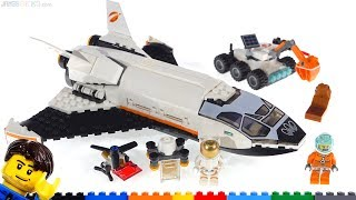 LEGO City Mars Research Shuttle Review! 60226