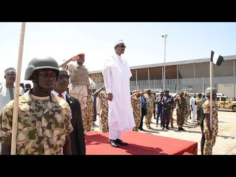 BUHARI ON ARMED FORCES REMEMBRANCE DAY