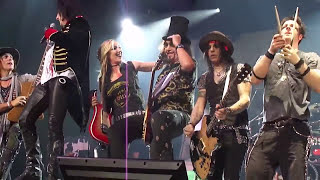 Ace Frehley (KISS) Alice Cooper Schools out Brisbane 2017