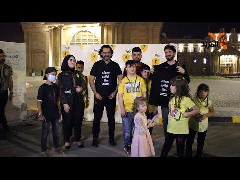 شاهد بالفيديو.. كرنفال المحاربين الصغار في البصرة #المربد
