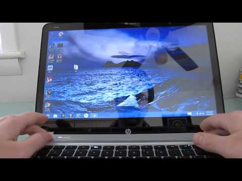 HP Envy TouchSmart 4 touchscreen ultrabook review