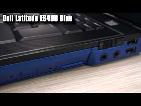 Dell Latitude E6400 Blue