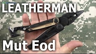 Leatherman Mut-Eod-Black-Molle (850132N) - відео 1