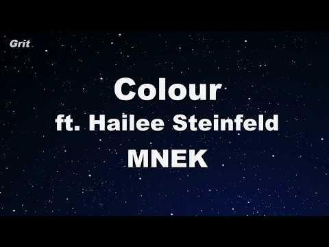Colour ft. Hailee Steinfeld - MNEK Karaoke 【No Guide Melody】 Instrumental