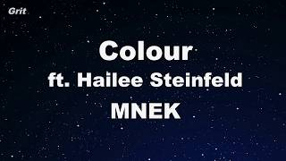 Colour Ft. Hailee Steinfeld   MNEK Karaoke 【No Guide Melody】 Instrumental