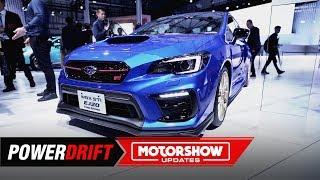 Subaru WRX STI EJ20 Final Edition : Sayonara : 2019 Tokyo Motor Show : PowerDrift