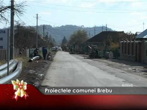 Proiectele comunei Brebu