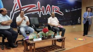 VISIT OF MR. MOHAMMAD AZHARUDDIN, FORMER INDIAN CRICKET CAPTAIN at GHS-IMR