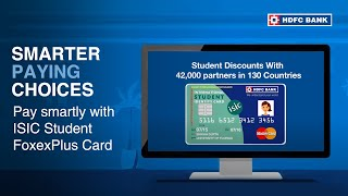 Apply for Forex Card for Students & Enjoy all the Benefits - HDFC Bank